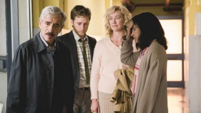 La familia Alcántara, en 'Cuéntame'.