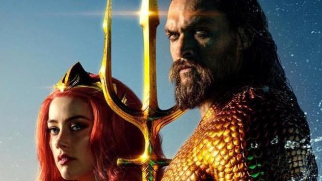 Nuevo póster de 'Aquaman'... ¿Será también carne de memes?