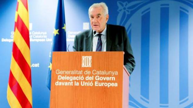 El conseller de Acción Exterior de la Generalitat, Ernest Maragall.
