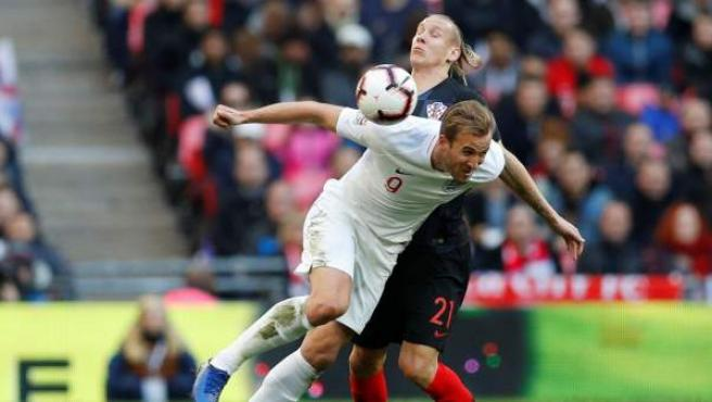 Harry Kane, en el Inglaterra vs Croacia de la UEFA Nations League.
