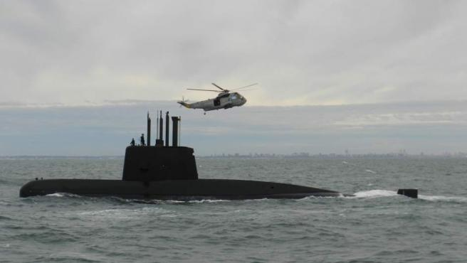 Búsqueda del submarino ARA San Juan.