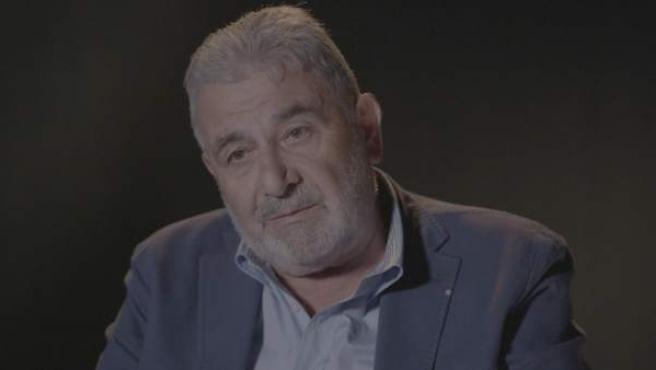 Laureano Oubiña, en una captura de televisión.