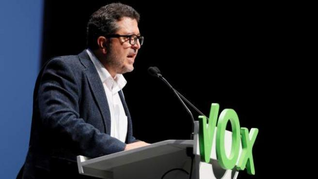 Francisco Serrano, candidato de Vox a la Junta de Andalucía.
