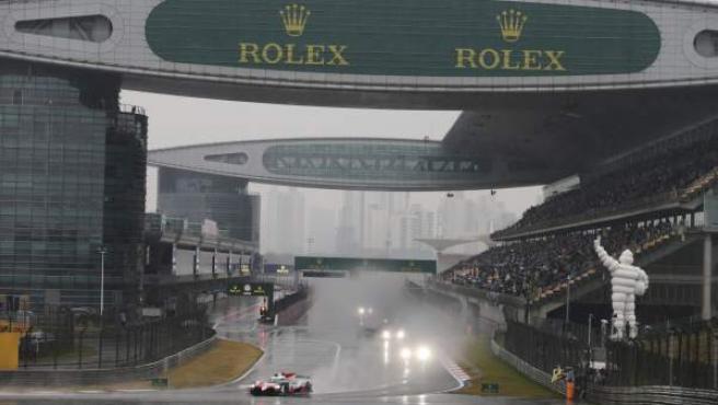 La lluvia marcó la disputa de las 6 horas de Shanghái.