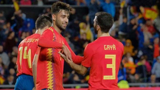 Brais Méndez marcó el gol de la victoria en su debut con la Selección española.