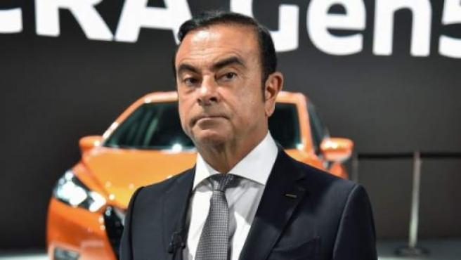 Carlos Ghosn, presidente de Nissan, Mitsubishi Motors y Renault.