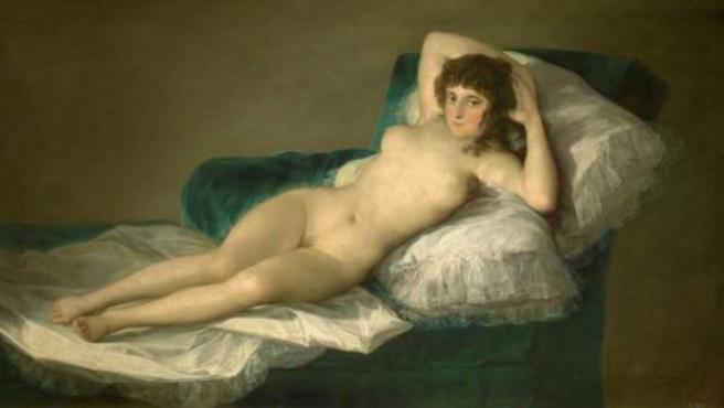 'La maja desnuda', de Goya.