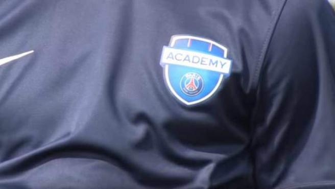 Camiseta de la academia del PSG.