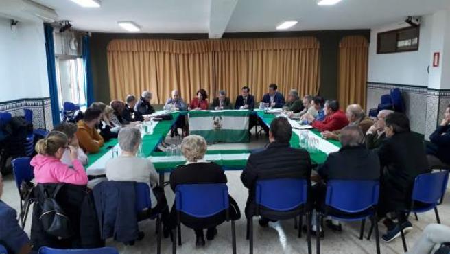 Reunión con asociaciones de vecinos del Polígono Sur
