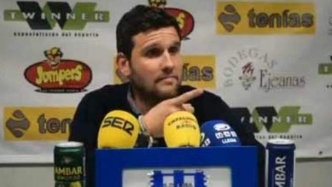 Gerard Albadalejo, entrenador del Lleida.