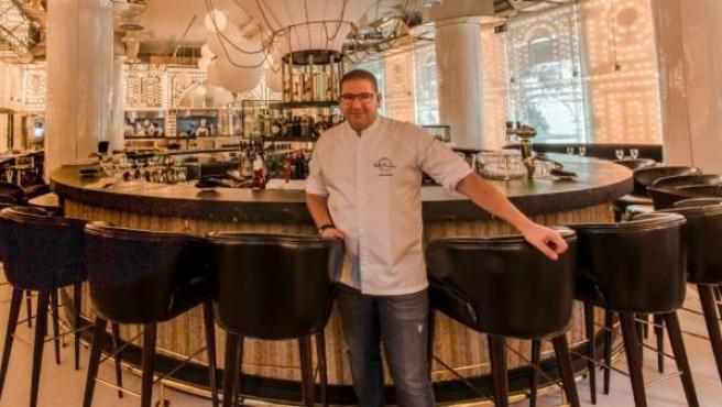 El chef Dani García en su restaurante BiBo, en Madrid.