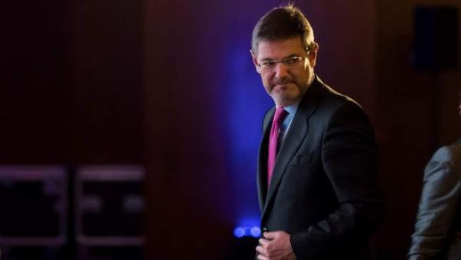 El ministro de Justicia, Rafael Catalá, inaugura la apertura de la décima Conferencia Internacional de Seguros.