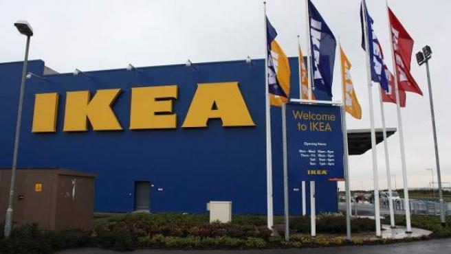 Tienda de Ikea en Belfast, Irlanda del Norte.