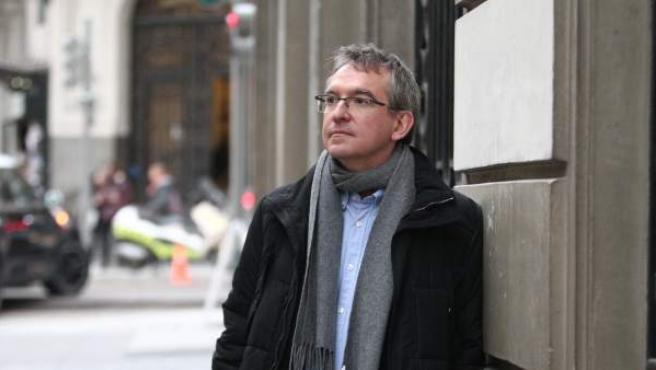 Santiago Posteguillo, en la promoción de su novela 'Yo, Julia' con la que ha ganado el Planeta.