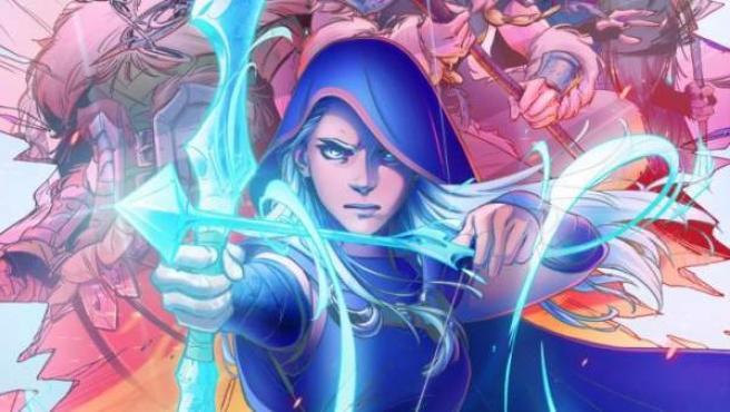 Ashe protagoniza el primer comic de 'League of Legends' para Marvel.
