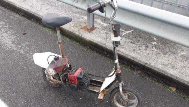 Vehículo construido por el propio conductor detenido en Lugo.