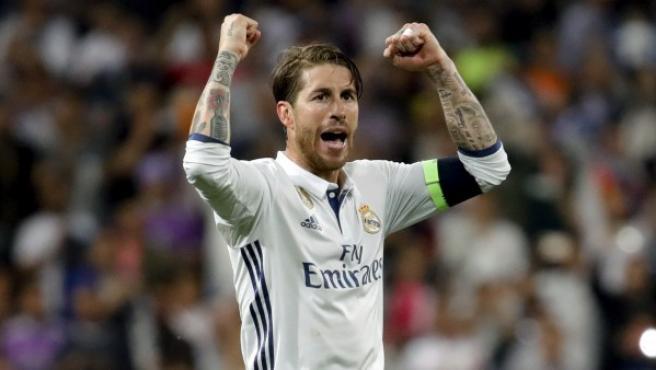 Ramos, en la Champions.