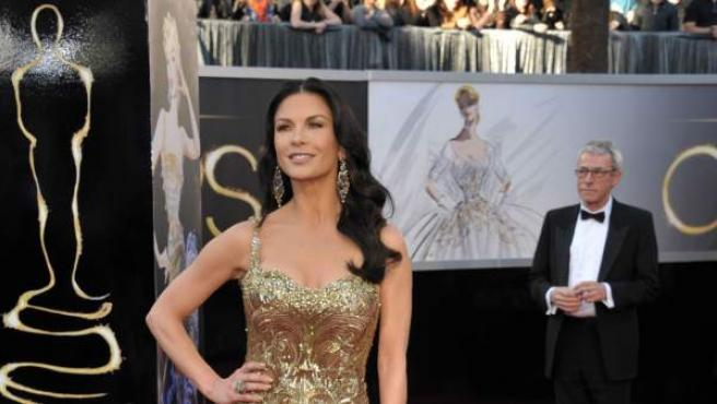 La actriz Catherine Zeta Jones.