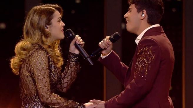 Amaia y Alfred en Eurovisión.