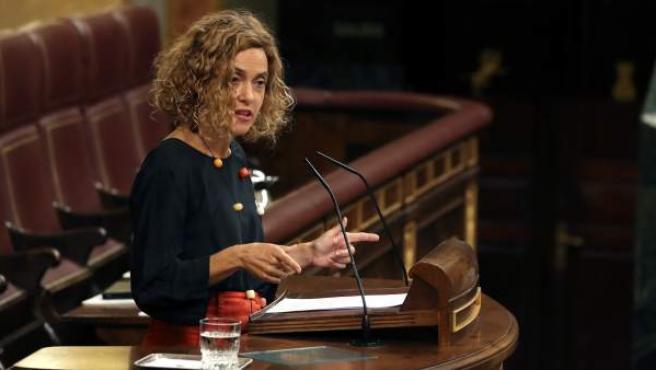 La ministra de Administraciones Territoriales, Meritxell Batet.