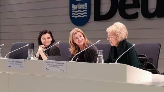 La diputada vizcaína Teresa Laespada