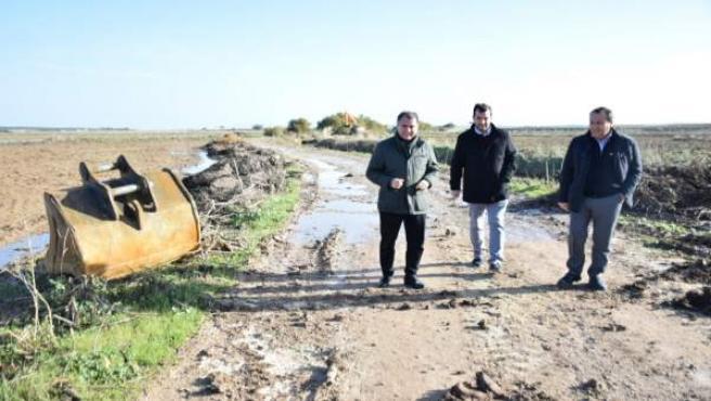 Ruiz Espejo visita municipios afecados por las lluvicas