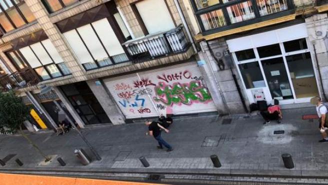 Barrio San Francisco en Bilbao