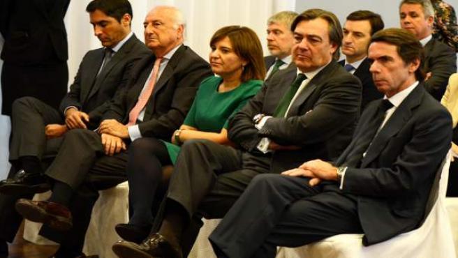 José María Aznar clausural III Fòrum #IDEASFAES a València
