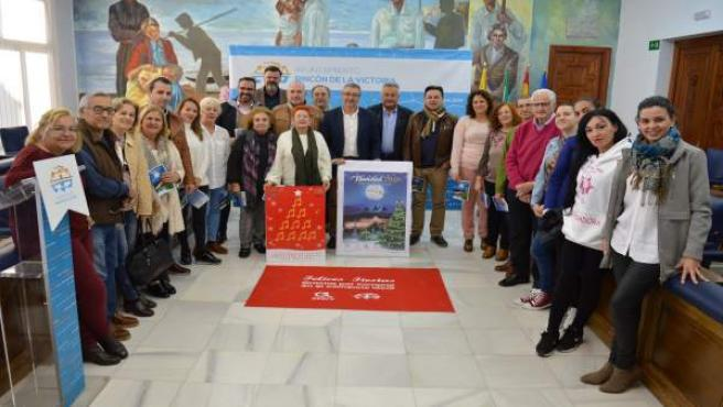Presentación de programación de navidad en Rincón