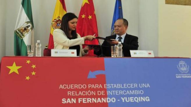 Acuerdo de colaboración San Fernando-Yueqing