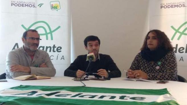 Pablo Bustinduy, responsable de la Secretaría de Internacional de Unidos Podemos