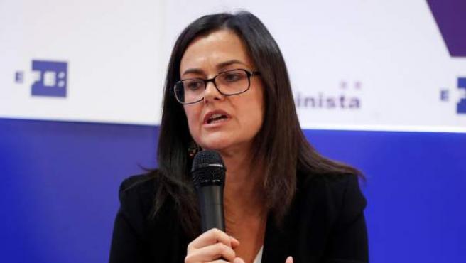 Esperanza Fernández, titular del juzgado de violencia de género en Móstoles.