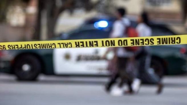 Imagen de archivo de un coche de policía de Estados Unidos.