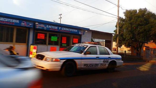 Un vehículo policial en el estado venezolano de Zulia, en una imagen de archivo.
