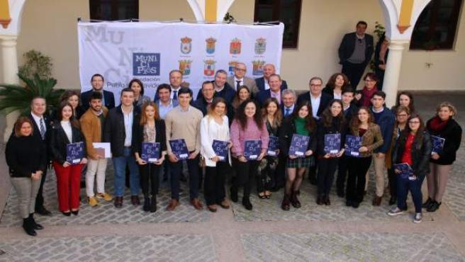Entrega de premios de la Fundación de Municipios Pablo de Olavide