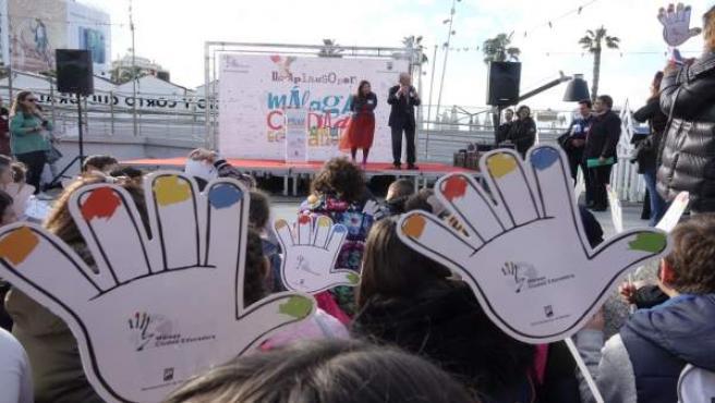 Ciudad educadora celebración educar niños escuela educación
