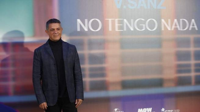 """Alejandro Sanz presenta mundialmente su sencillo """"No tengo nada"""""""