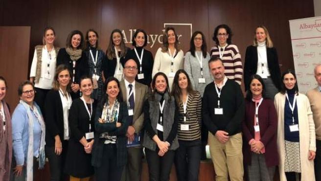 Participantes en un encuentro empresarial sobre FP Dual en Albaydar