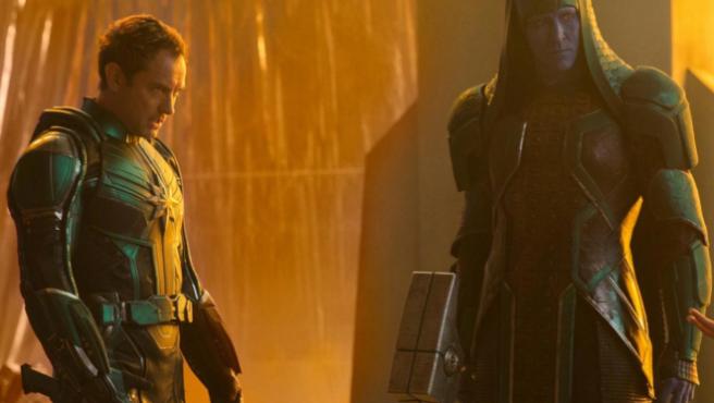 'Capitana Marvel': atención al spoiler que encierra Jude Law