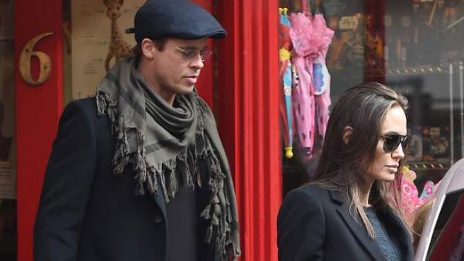 Brad Pitt y Angelina Jolie, juntos en una imagen de 2016.