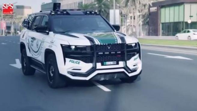 El coche de policía más avanzado del mundo está en Dubai.