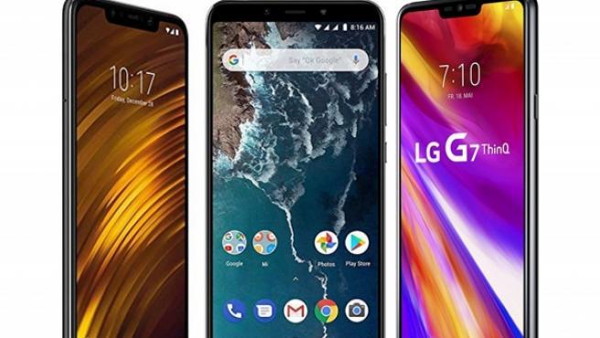 Los mejores móviles calidad - precio de 2018.