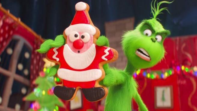 Fotograma de la nueva versión animada de 'El Grinch'.