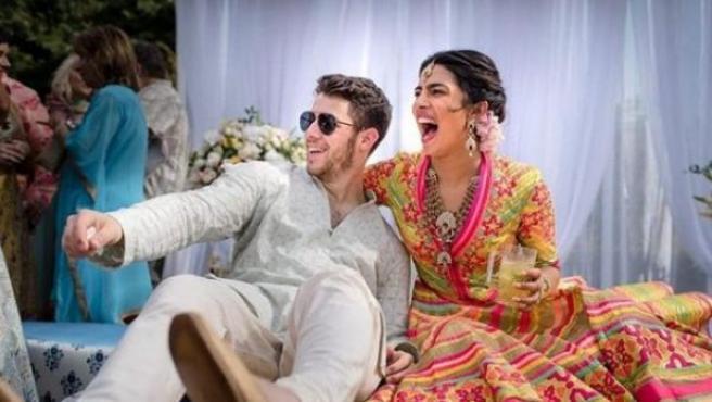 Priyanka Chopra y Joe Jonas.