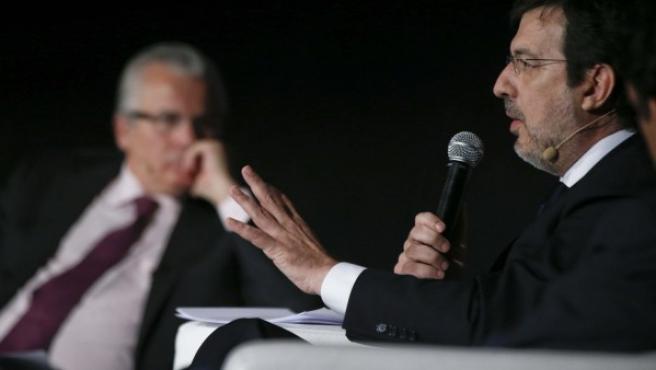 El juez de la Audiencia Nacional Fernando Andreu (derecha).