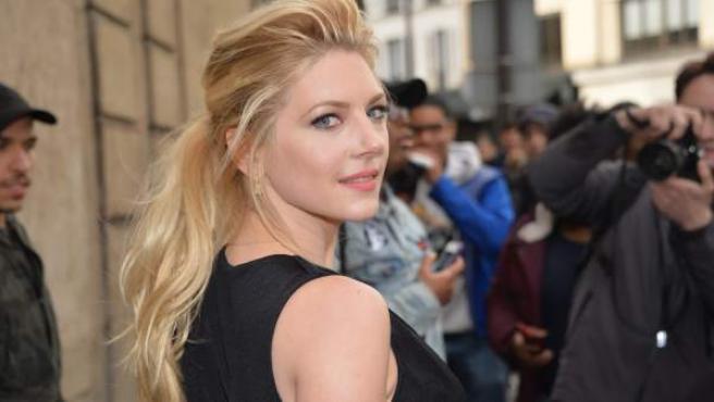 Katheryn Winnick interpreta a Lagertha en la serie 'Vikingos'.