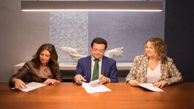 Firma del convenio marco de colaboración