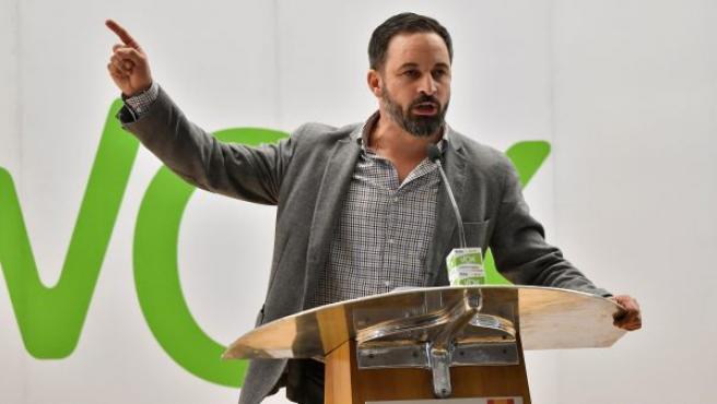 Santiago Abascal es el presidente de Vox. Formó parte del PP hasta 2013.