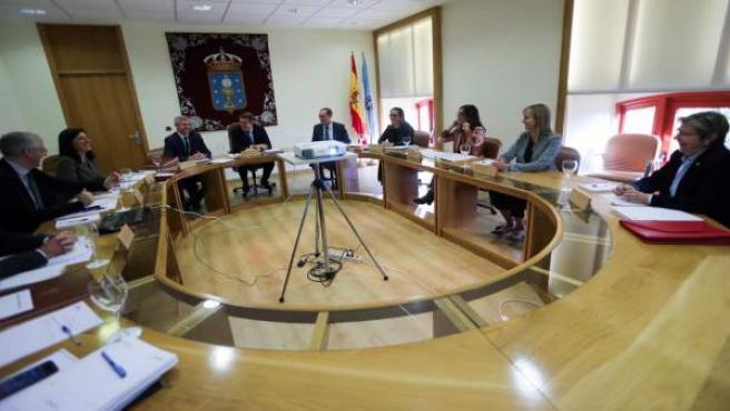 Reunión del Consello de la Xunta del 5 de diciembre