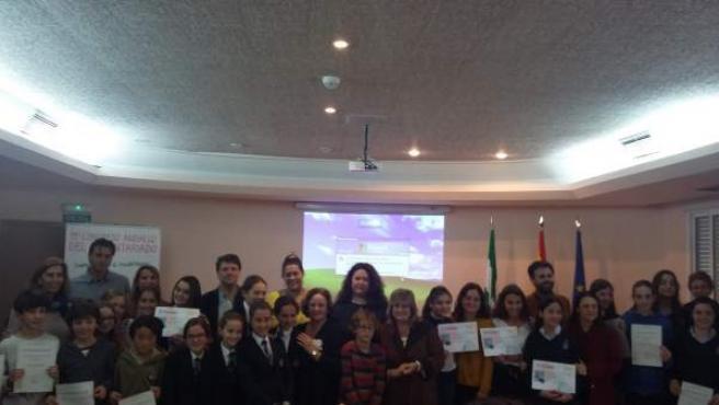Entrega de los premios provinciales del certamen 'Solidaridad en Letras'